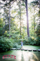 Duke Gardens Senior Portrait Session