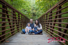 Cary, NC Family Photographer; Family Photos on a Bridge; Cary, NC; Family Photographer
