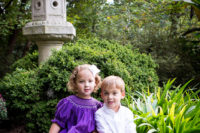 Twin-children-portrait-photography-at-Duke-Gardens-in-late-fall