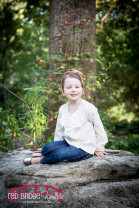 Durham Family Photography at Duke Gardens in the fall
