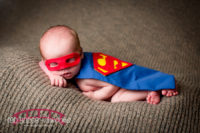 Drew's-superhero-newborn-photography-in-Wake-Forest-North-Carolina