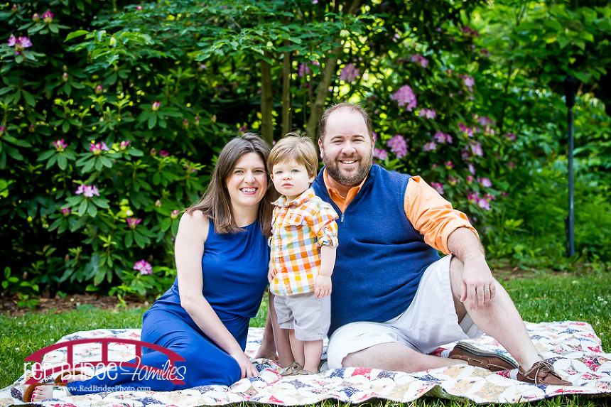 Chapel Hill Family Photographer; UNC Coker Arboretum Photography; Raleigh-Durham, NC Photographer