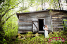 Roxboro, NC Wedding Photography on a family farm