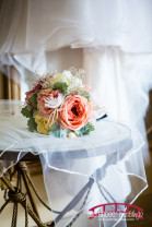 Country Themed DIY wedding at Chapel Hill Carriage House