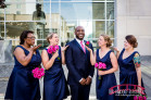 Downtown Raleigh Sheraton Wedding Photography