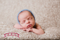 Raleigh Newborn Photography Boy In studio with parents