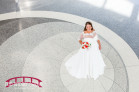 Bridal Portrait Session at the RDU General Aviation Terminal