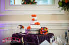 Eggplant and Orange themed wedding at the Highgrove Estate in Raleigh