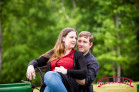 Spring Engagement Photography at Bennett Bunn Plantation