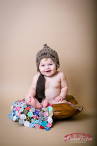 raleigh baby photography for a six month old