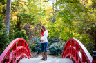 Maternity Portraits in an Arboretum during the Fall