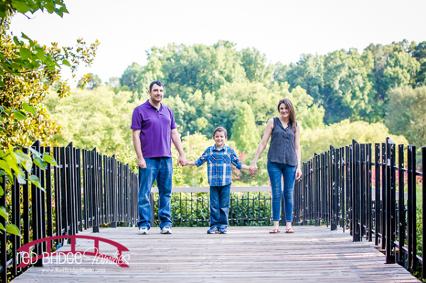 Pullen Park Family Session in the Summer