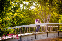 Pullen Park Summer Engagement Photographer