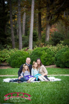 Fall Duke Gardens Family Photography Portraits