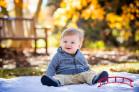 UNC Chapel Hill Coker Arboretum Fall Family Photography
