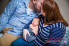 Durham, NC Lifestyle Newborn Photography featuring Maverick