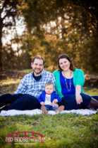 Raleigh Family Photography at Oak View Park featuring Sam and the Adams family