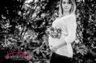 Duke Gardens Spring Maternity Session Photographer