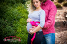 Duke Gardens Spring Maternity Session Photographer