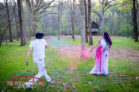 Holi Powder Maternity session in Durham, NC by Red Bridge Photography