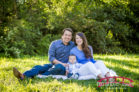 The Phillips Family at Historic Oak View County Park for North Carolina Family Photography