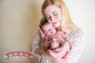 Angel-and-pink-princess-themed-raleigh-north-carolina-newborn-studio-photography