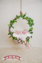 Angel-and-pink-princess-themed-raleigh-north-carolina-newborn-studio-photography