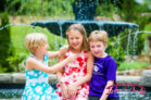 Summer-family-photographs-with-three-girls-in-a-garden