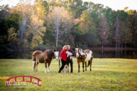 Anniversary-portait-photography-on-Raleigh-family-and-horse-farm-in-the-fall