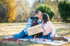 Downtown-Hillsborough-and-Riverwalk-Fall-Engagement-photography-with-a-dog